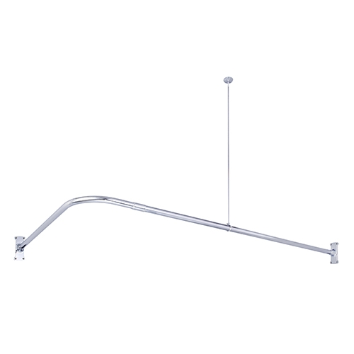 L SHAPR CORNER SHOWER ROD