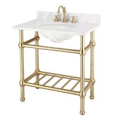 SINGLE WASHING STAND WITH SHELF
